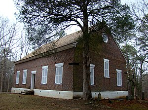 National Register of Historic Places listings in Columbia County, Georgia - Image: Old Kiokee Baptist Church