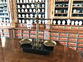 Old pharmacy balances in exposition History of pharmacies in Kuks Hospital in Kuks, Trutnov District.jpg