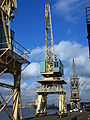 Old port cranes at Port of Antwerp, pic-045.JPG