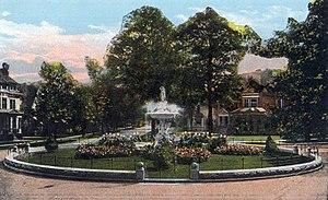 Near Westside, Syracuse - Onondaga Circle on West Onondaga Ave. c.1910