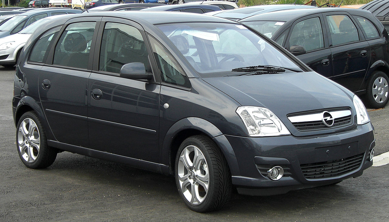 file opel meriva 1 7 cdti facelift wikimedia commons. Black Bedroom Furniture Sets. Home Design Ideas