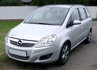 Opel Zafira - Opel Zafira B (2005–2009)