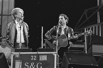 Simon & Garfunkel - The group performing in the Netherlands in 1982