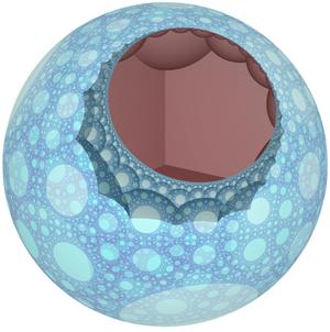 Order-3-4 heptagonal honeycomb - Image: Order 3 4 heptagonal honeycomb cell