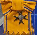 Order of the Cross of the Eagle 1st class badge sash (Estonia before 1940) - Tallinn Museum of Orders.jpg