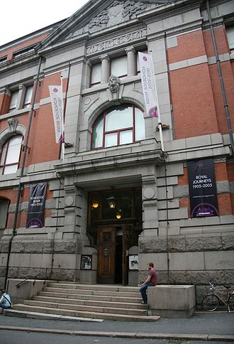 Norwegian National Academy of Craft and Art Industry - The school (now a museum) in 2012.