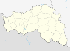Valuyki is located in Belgorod Oblast