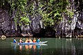 Outrigger Canoe at the Puerto Princesa Subterranean River National Park.jpg