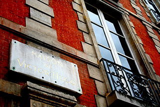 museum dedicated to Victor Hugo in Paris, France
