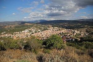 Ozieri - Panorama from Monserrato