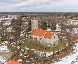 Saare County - Image: Püha kirik 2014