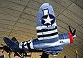 P-47 Thunderbolt, The American Air Museum, Imperial War Museum, Duxford. (30992024176).jpg