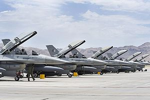 English: NELLIS AIR FORCE BASE, Nev.-- A Pakis...
