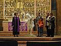 PENvolution von Kerstin Schulz, Kunst-Gottesdienst Marktkirche Hannover 22.02.2015 03.jpg