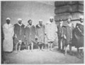 PSM V82 D021 Algerian berbers at ellis island coming to fill a theater engagement.png