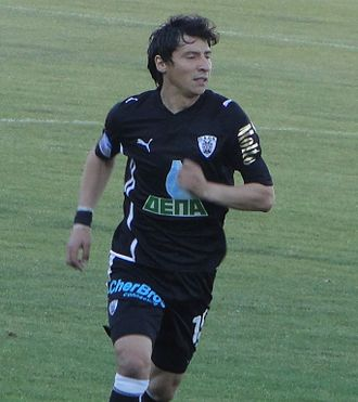 Pablo Contreras - Pablo Contreras playing for PAOK in 2010.