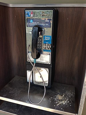 Pacific Bell - Pacific Bell telephone booth