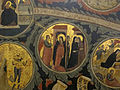 Pacino di bonaguida, albero della vita, 1310-15, da monticelli, fi 23 annunciazione e visitazione.JPG