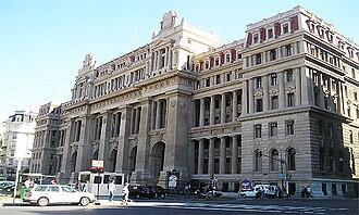 Politics of Argentina - Image: Palacio de Tribunales, Buenos Aires