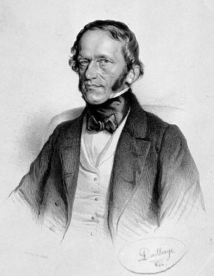 Frantisek Palacky, (lithograph by Adolf Dauthage, 1855) PalackyLitho.jpg