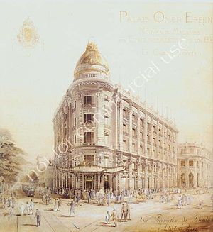 Architectural Heritage And Urban Planning Documentation - 19th century Downtown Cairo, Egypt.