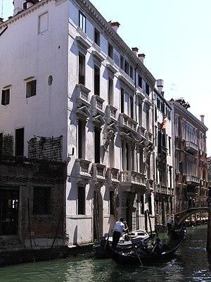 Morosini family - The Palazzo Morosini del Pestrin on the Rio Dei Pestrin in Venice, built for the Morosini family ca. 1640. Picture taken from the end of calle delle Cavatto.