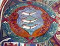 Palazzo comunale di s. miniato, sala delle sette virtù, stemma guicciardini 02.JPG