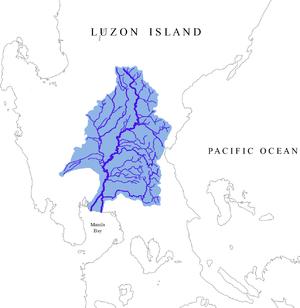Pampanga River - Image: Pampanga River Watershed