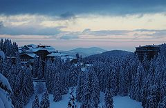 Pamporovo in winter