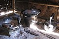 Pangetkon, Shan Hills, Myanmar, Village kitchen in rural remote area of Shan Hills near Kalaw.jpg