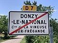 Panneau sortie Donzy National Vineuse Fregande 1.jpg