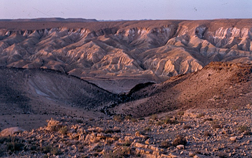 Panorama from the road to Sinai