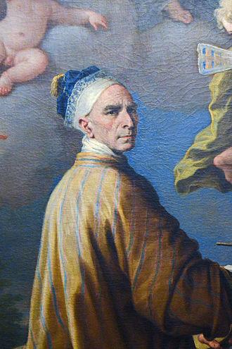 Paolo de Matteis - Self-portrait