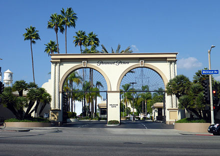 Paramount pictures on Melrose