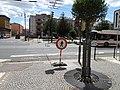 Pardubice, Smetanovo náměstí, uzavřený přechod.jpg