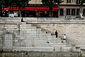 Paris 75004 Quai du Marché-Neuf parapet and stair flight 20150527 (2).jpg