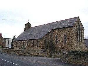 Ffynnongroew - Image: Parish Church Ffynnongroyw geograph.org.uk 128331