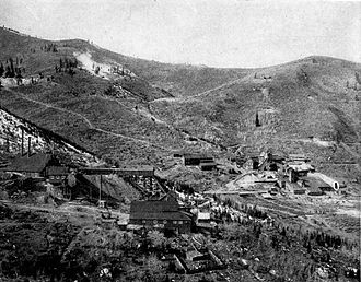 Park City, Utah - Daly West and Quincy Mines in Park City (1911)