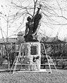 Park a Váci út és a Gyöngyösi utca találkozásánál, Farkas Aladár- Sallai és Fürst emlékmű. Fortepan 25668.jpg