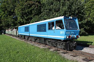 Dresden Park Railway - Battery-electric locomotive EA02