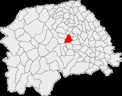 Vị trí của Partestii de Jos