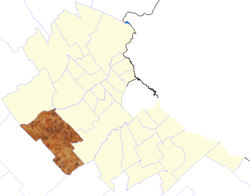 location of Marcos Paz Partido in Buenos Aires Province