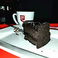 Pastry & coffee served at Café Coffee Day.jpg