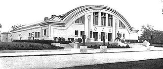1938–39 Oregon Webfoots men's basketball team - Patten Gymnasium, site of the 1939 NCAA national championship game