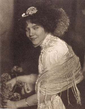 """Paul Haviland - """"Miss G.G."""" by Paul Haviland. Published in Camera Work, No 28, 1909"""