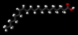 Paullinic acid - Image: Paullinic acid 3D balls