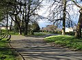 Paved driveway leading onto the Cambridge Road - geograph.org.uk - 784112.jpg