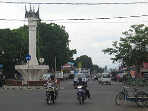 Payakumbuh - Main street of Payakumbuh.