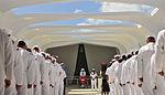 Pearl Harbor remembrance at USS Arizona Memorial 130604-N-QG393-176.jpg