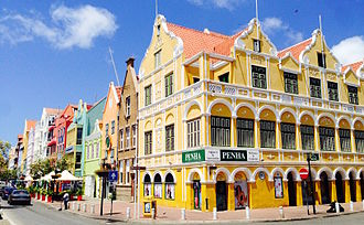 Willemstad - Penha Building, built in 1708.